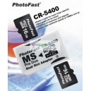 อเดปเตอร์แปลงSD CARD เป็น MS Pro Duo /PhotoFast CR-5400 Dual Socket MicroSDHC to MS Pro Duo Adapter